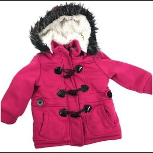 Me Jane Baby Toggle Hot Pink Coat 24 months